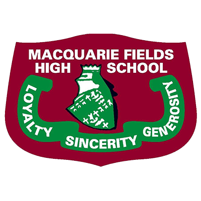 Macquarie Fields High School logo
